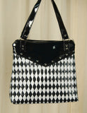 Hold Fast Handbags Harlequin Diamond Totebag