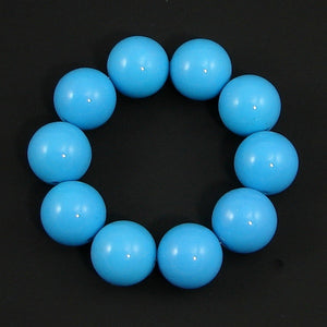 Blue Bead Bracelet by Hollywood Mirror : Cats Like Us