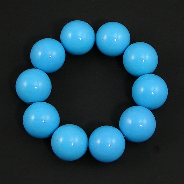 Blue Bead Bracelet - Cats Like Us