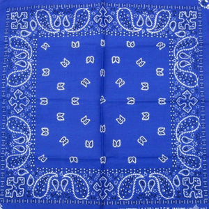 Blue Traditional Bandana by Hollywood Mirror : Cats Like Us