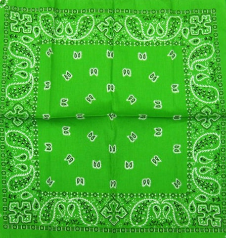 Green Traditional Bandana by Hollywood Mirror : Cats Like Us