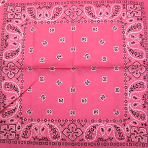 Pink Traditional Bandana by Hollywood Mirror : Cats Like Us