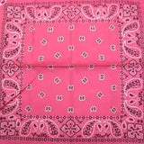 Hollywood Mirror Pink Traditional Bandana for sale at Cats Like Us - 1