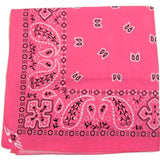 Hollywood Mirror Pink Traditional Bandana for sale at Cats Like Us - 2