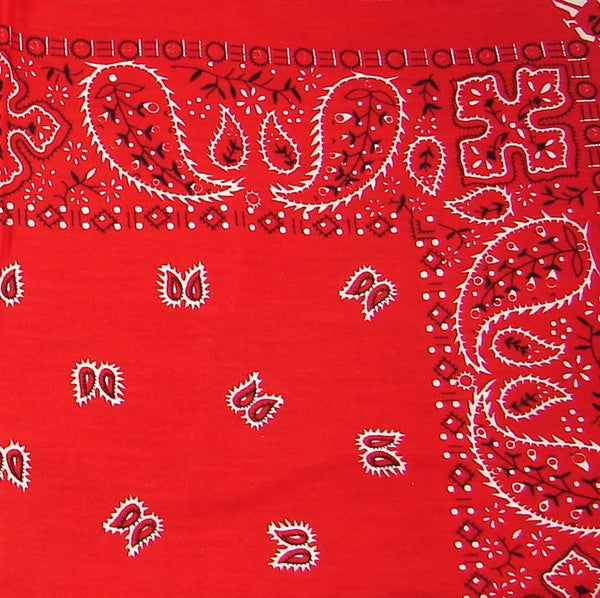 Red Traditional Bandana by Hollywood Mirror : Cats Like Us