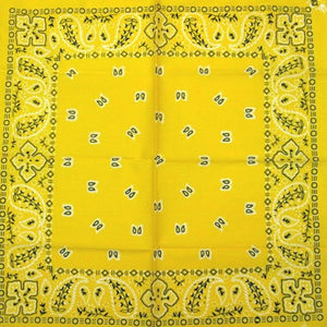 Yellow Traditional Bandana - Cats Like Us