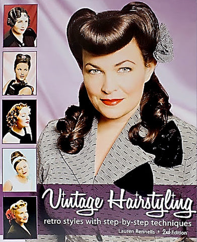 HRST Books Vintage Hairstyling 2nd Ed for sale at Cats Like Us