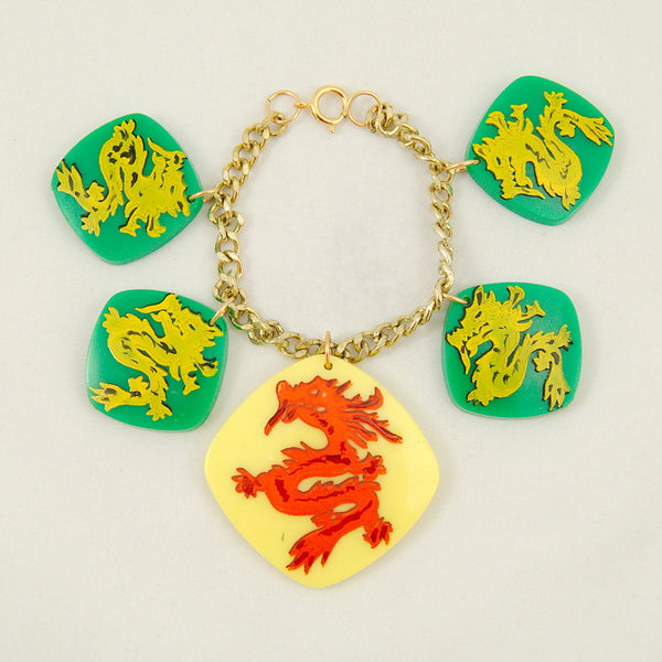 All Grn Hidden Dragon Bracelet - Cats Like Us
