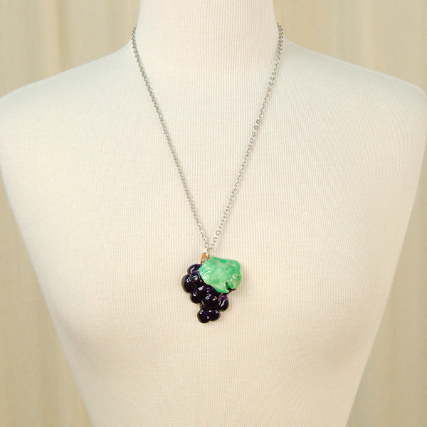 Grape Fruitopia Fruity Necklace by Hullabaloo : Cats Like Us