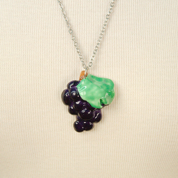 Grape Fruitopia Fruity Necklace - Cats Like Us