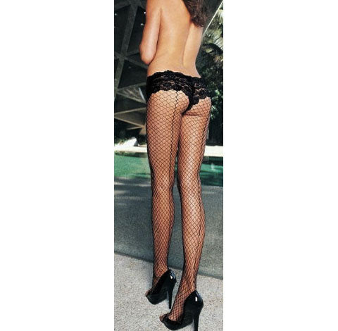 Industrial Fishnet Pantyhose by Leg Avenue