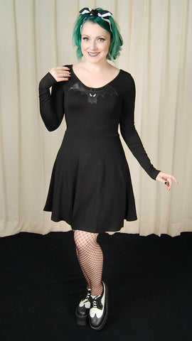 Batty Bat Skater Dress