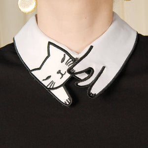 Cat Stole Collar Top by Jawbreaker : Cats Like Us