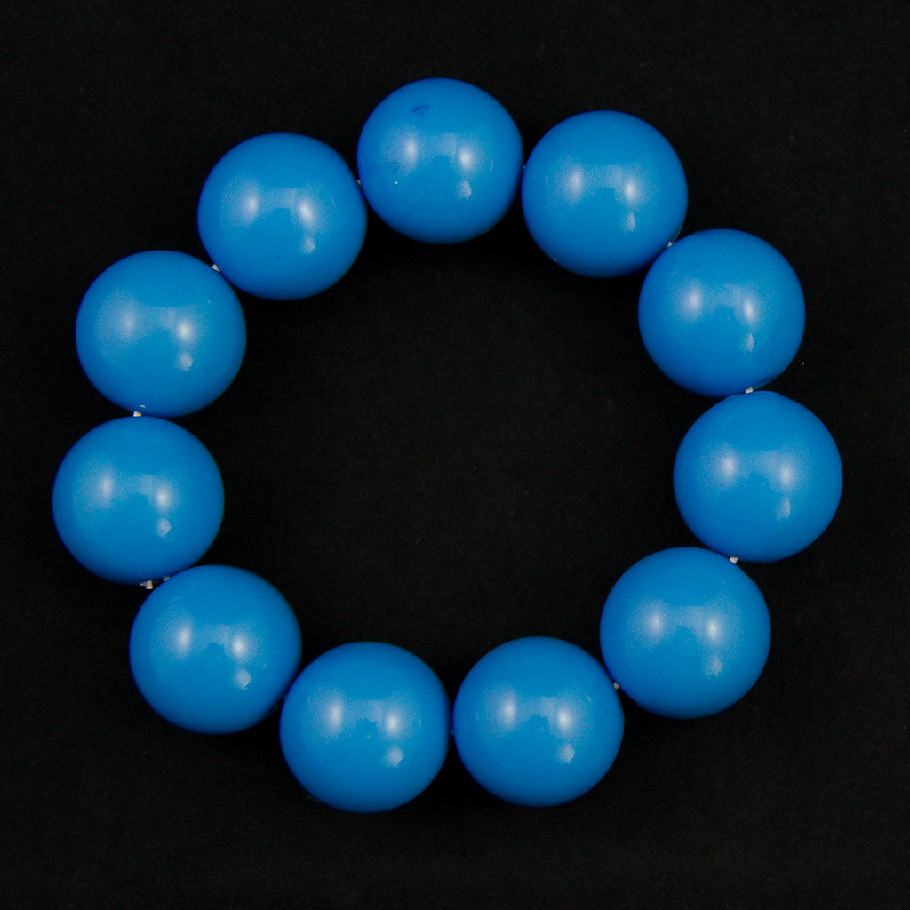 Blue Bead Bracelet by JS World Trading : Cats Like Us