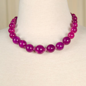 Purple Bead Necklace by JS World Trading : Cats Like Us