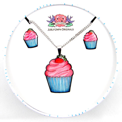 Cupcake Jewelry Gift Set - Cats Like Us