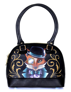 Felix the Dapper Fox Handbag by Jubly-Umph : Cats Like Us
