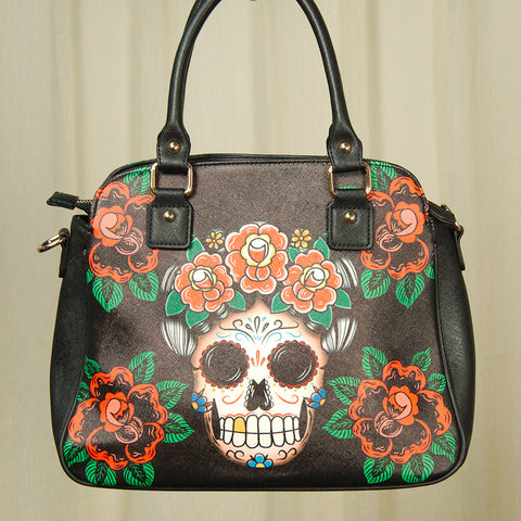 Frida Skull Handbag - Cats Like Us