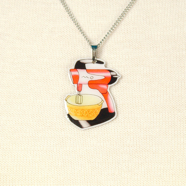 Mix Master Mixer Necklace by Jubly-Umph : Cats Like Us