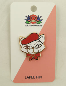 Pablo the Artistic Pussy Pin by Jubly-Umph : Cats Like Us