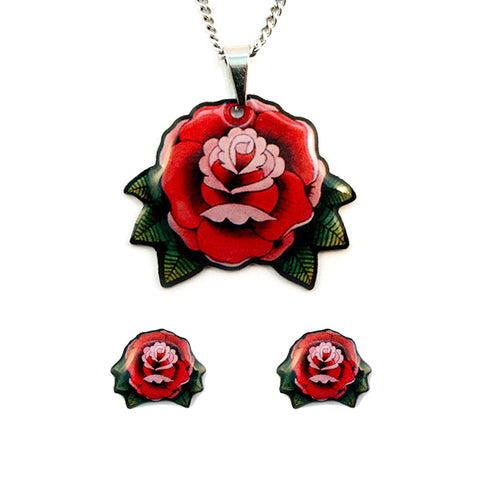 Roses Jewelry Gift Set - Cats Like Us