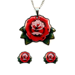 Roses Jewelry Gift Set