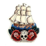 Jubly-Umph Sailing Ship Brooch Pin for sale at Cats Like Us - 4