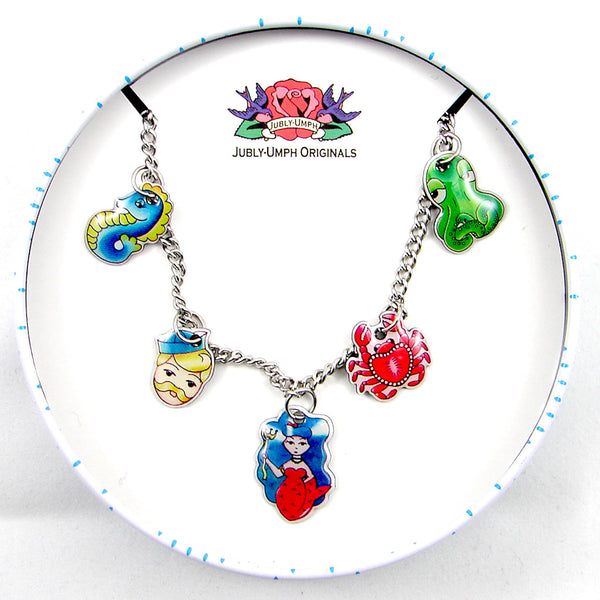 Jubly-Umph Sea Life Charm Bracelet for sale at Cats Like Us - 2