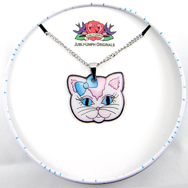 Jubly-Umph Sweet Kitty Necklace for sale at Cats Like Us - 2
