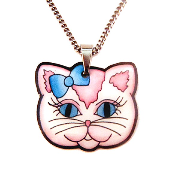 Sweet Kitty Necklace by Jubly-Umph : Cats Like Us