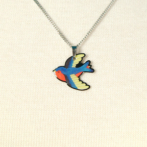 Swooping Swallow Necklace by Jubly-Umph : Cats Like Us