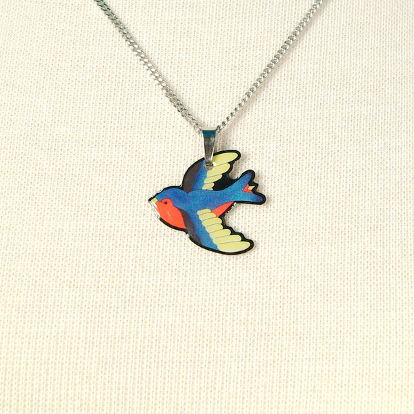 Jubly-Umph Swooping Swallow Necklace for sale at Cats Like Us - 2