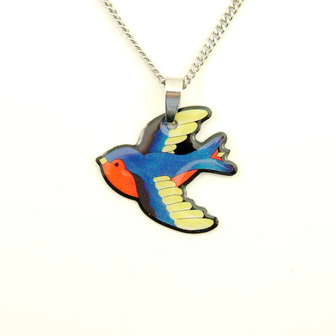 Swooping Swallow Necklace - Cats Like Us