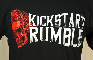Mens Kick Start Rumble Skull T by Kick Start Rumble : Cats Like Us