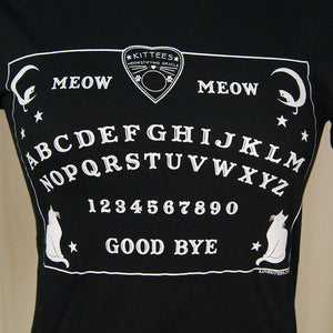 Ouija Meow Meow T Shirt - Cats Like Us
