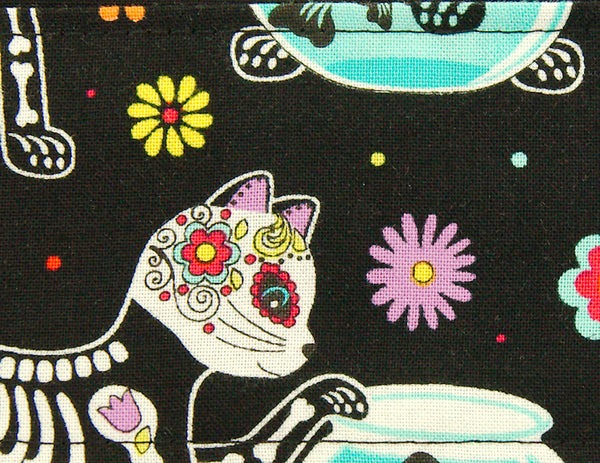 Dia de Los Gatos Hair Tie by Krampus Cuties : Cats Like Us
