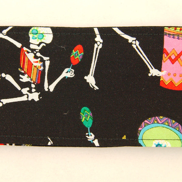 Fiesta Skeletons Hair Tie by Krampus Cuties : Cats Like Us