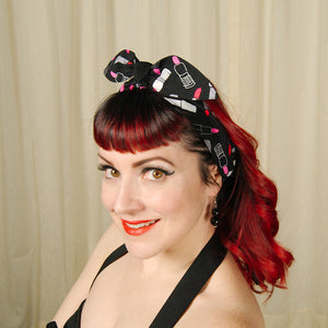 Lipstick Queen Hair Tie by Krampus Cuties : Cats Like Us