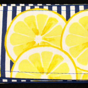 Nautical Lemon Hair Tie - Cats Like Us