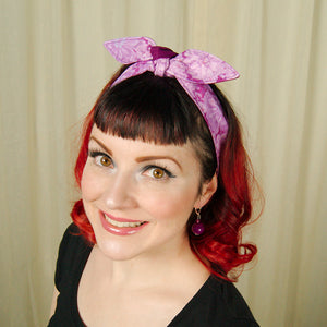 Purple Watercolor Hair Tie by Krampus Cuties : Cats Like Us