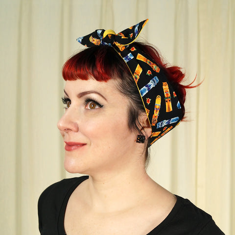 Rad Tiki Idol Hair Tie by Krampus Cuties : Cats Like Us