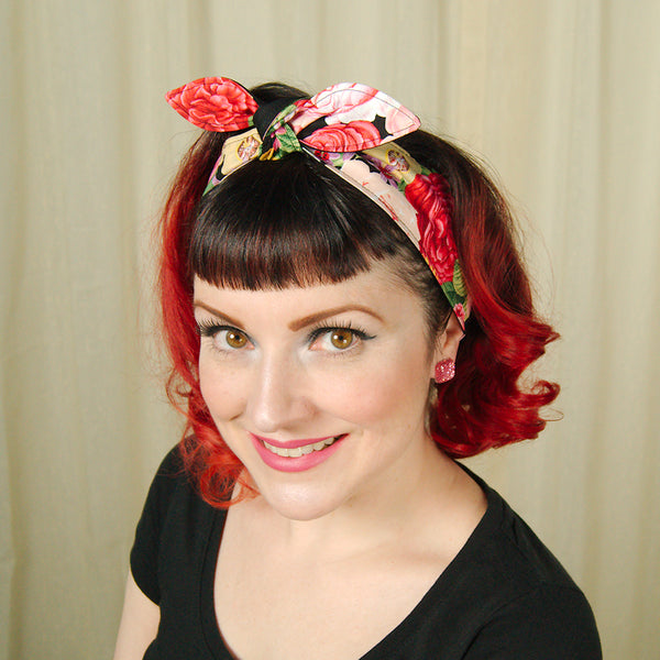 Rose Garden Hair Tie by Krampus Cuties : Cats Like Us