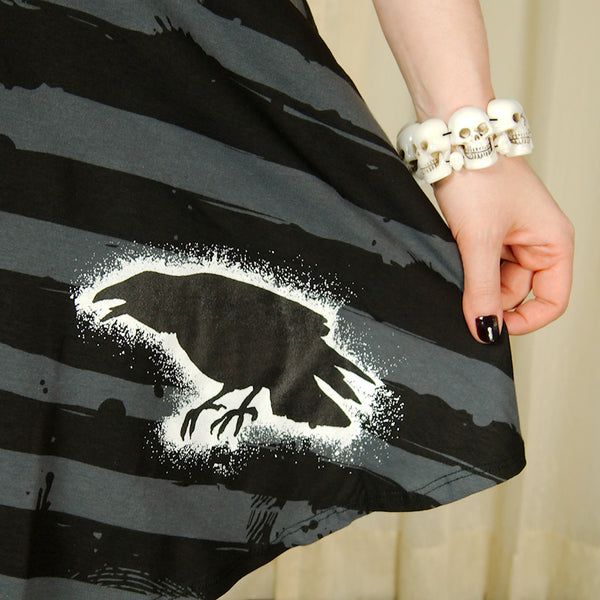 Nevermore Raven Skater Dress by Kreepsville 666 : Cats Like Us