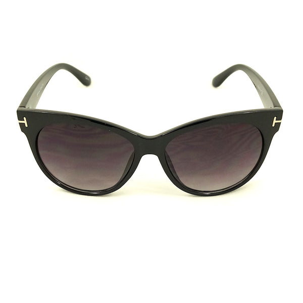 Black Catty Wayfarer Sunglasses by LA Sunglasses : Cats Like Us