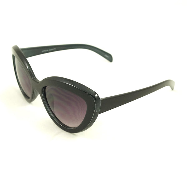 Black Chic Cat Eye Sunglasses by LA Sunglasses - Cats Like Us