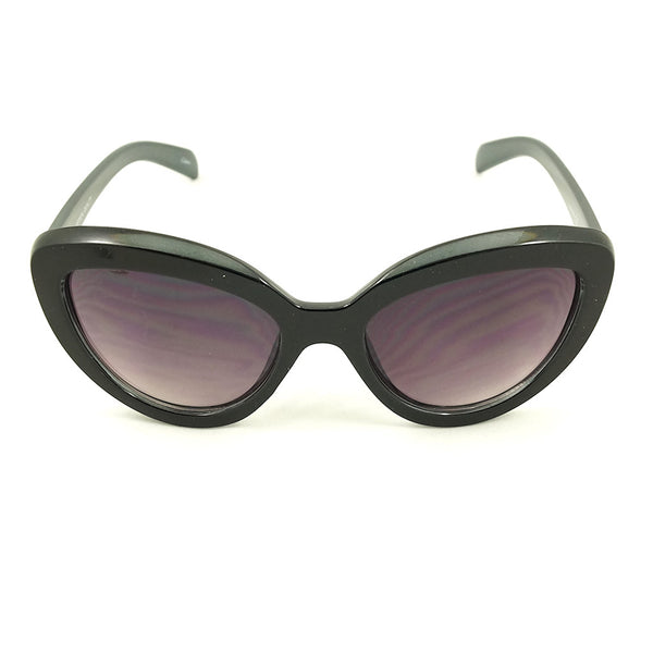 Black Chic Cat Eye Sunglasses