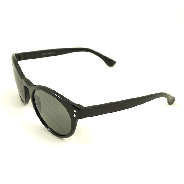 Black Retro Round Sunglasses - Cats Like Us