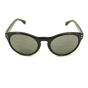 Black Retro Round Sunglasses by LA Sunglasses : Cats Like Us