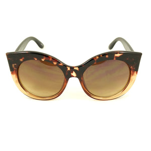 Brown Point Cat Eye Sunglasses - Cats Like Us
