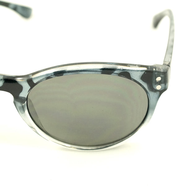 Gray Retro Round Sunglasses - Cats Like Us